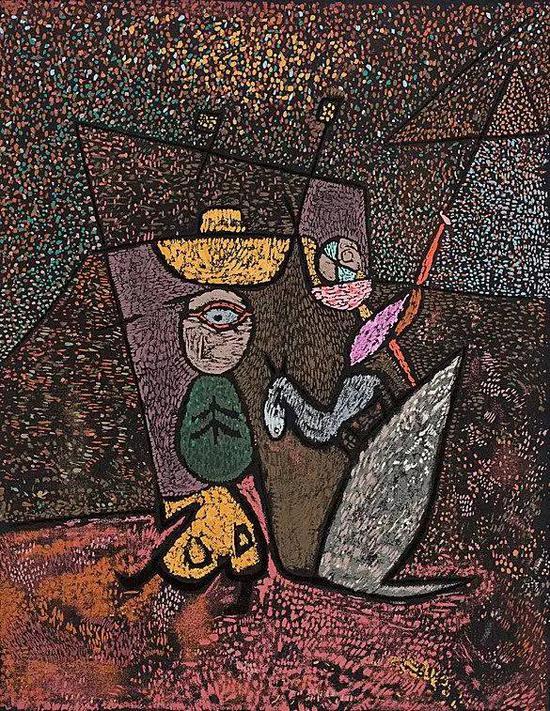 保罗·克利 Paul Klee - The Travelling Circus