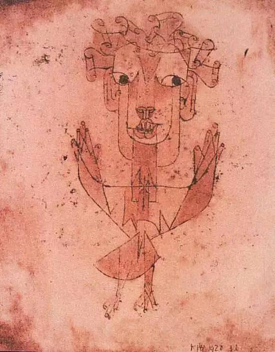 保罗·克利 Paul Klee - New Angel
