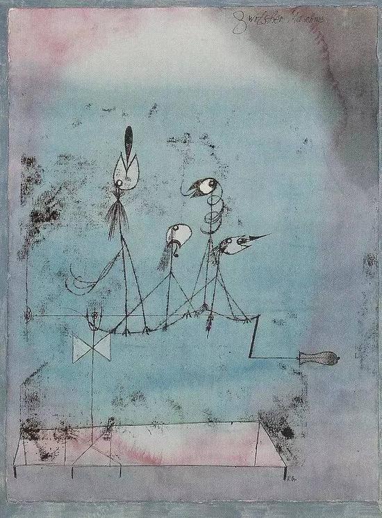 保罗·克利 Paul Klee - Twittering Machine