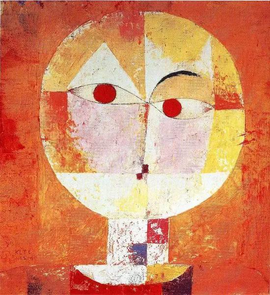 保罗·克利 Paul Klee - 老人像