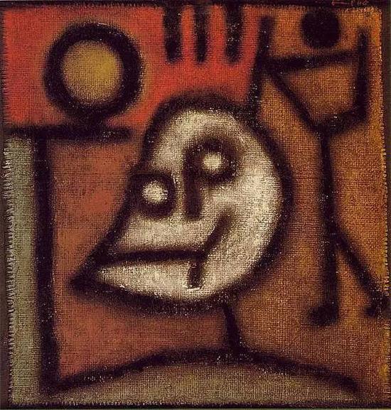 保罗·克利 Paul Klee - Death and Fire