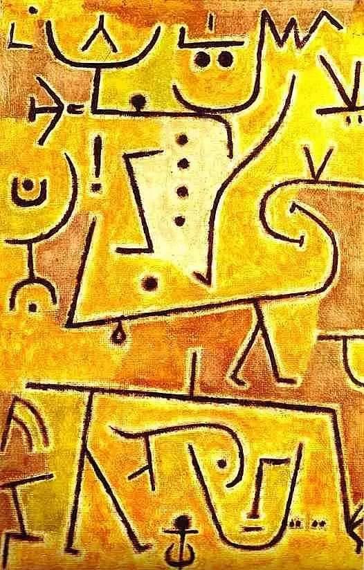 保罗·克利 Paul Klee - Red waistcoat