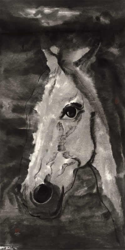 白驹系列之三 水墨