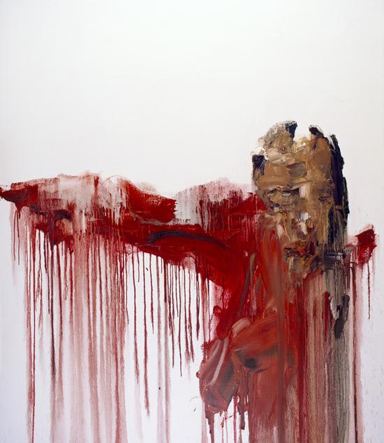 诗经,2009, 油画,210 X 180 CM