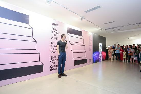 往届青年艺术100参展艺术家代表冯一尘