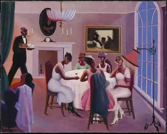 Cocktails, Archibald Motley, 1927 (Collection: Museum of Fine Arts, Boston)