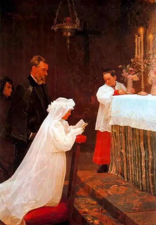 First Communion,1896