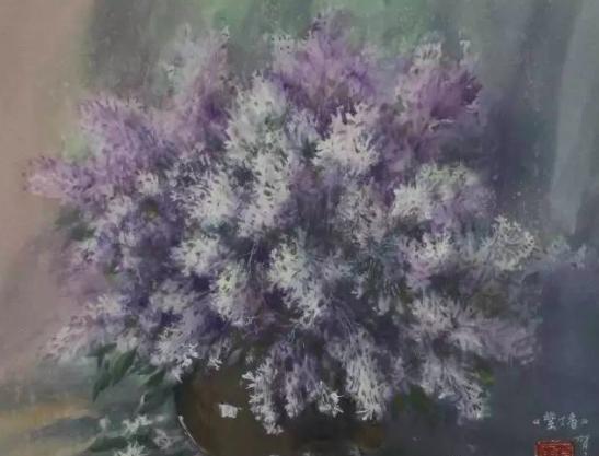 紫丁香?贺玉章?2016