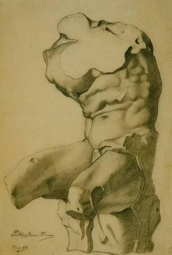Study for a Torso ,1892