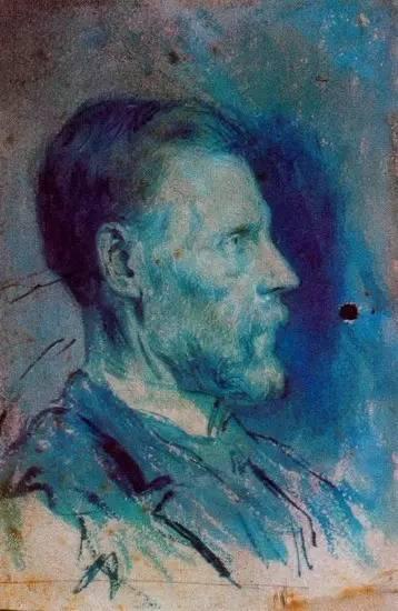 《父亲肖像》,1896