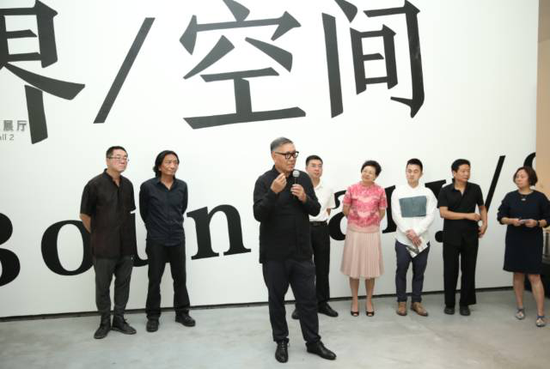 此次展览策展人、芝加哥大学教授巫鸿介绍展览情况