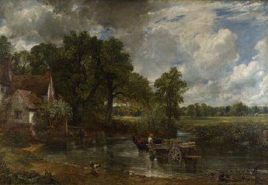 John Constable; The Hay Wain