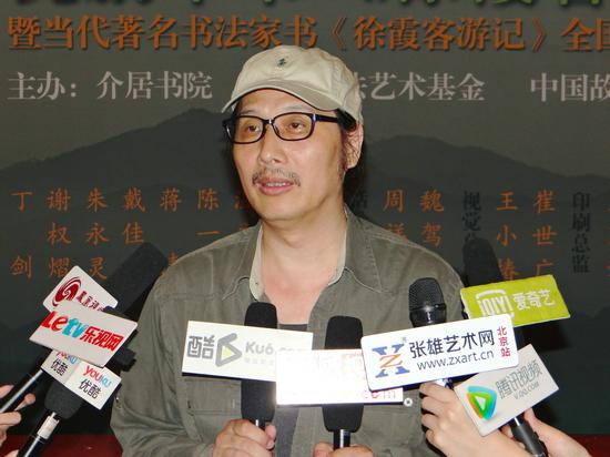 中国文联委员、中国书协理事、电视剧《书圣王羲之》导演、《中国故事》杂志社总编辑周祥林先生接受媒体采访