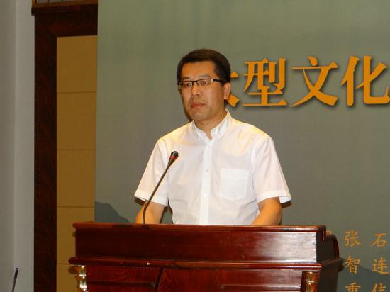 江阴市市委常委宣传部长程政先生讲话