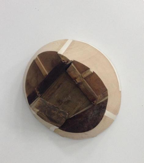 邱加、私人物品no.7、木、100x85x60cm、2017