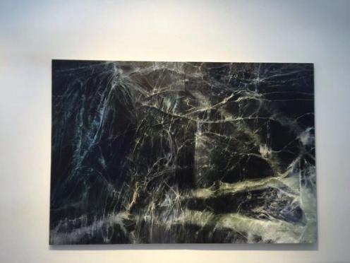 孙尧、星迹TO THE STARS NO.19、布面油画、220x320cm、2016