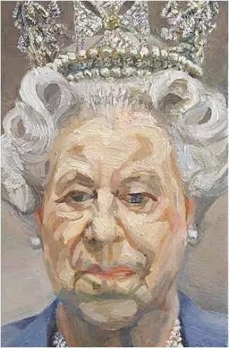 弗洛伊德为英国女王画像