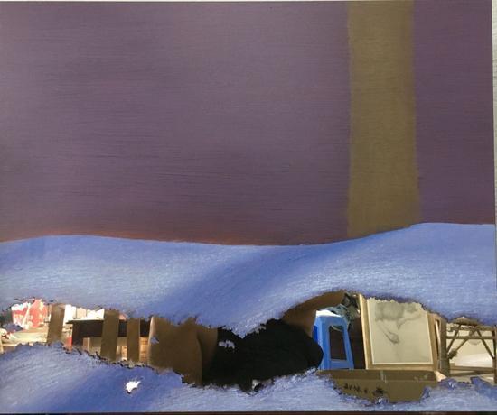 影3 镜面油画 50x60cm 2016年