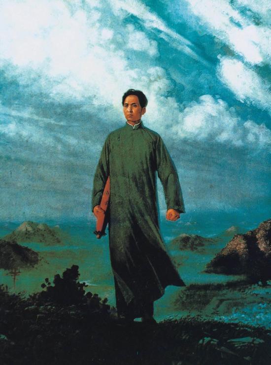 刘春华《毛主席去安源》油画