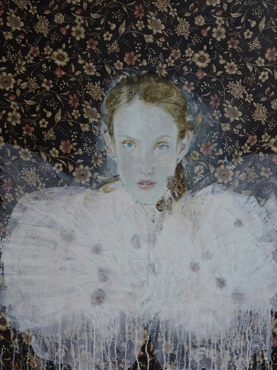 2017年《that s》 系列4 布面油画 60x80cm