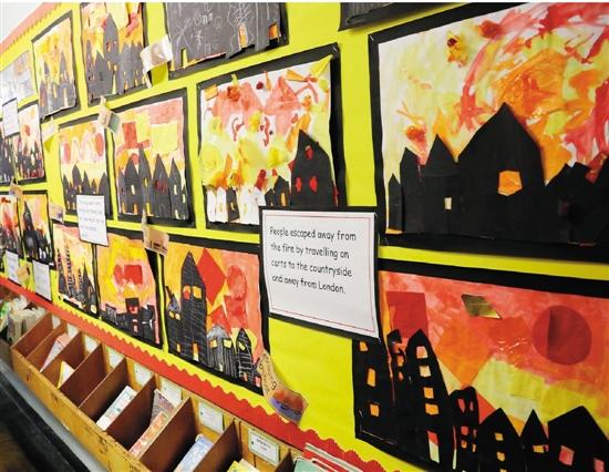 二年级汗青主题《伦敦大火》的功课