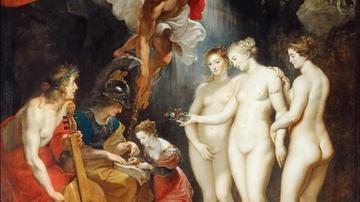油画中女神雅典娜三大经典形象