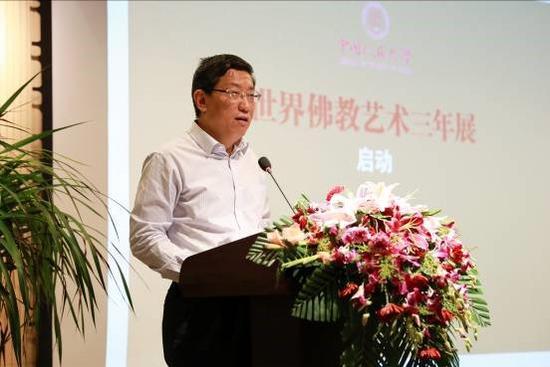 国家宗教局副局长蒋坚永先生致辞