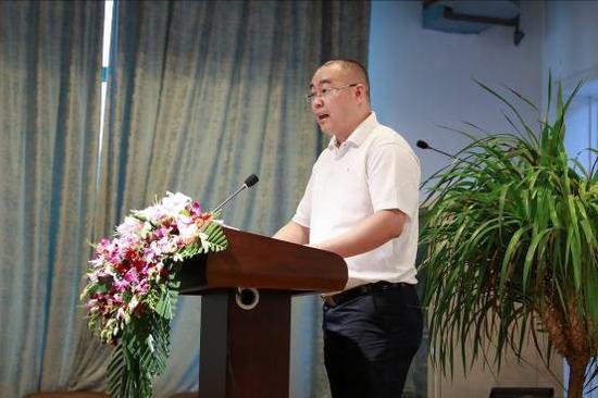 中国宗教文化产业集团有限公司顾问林球先生发言