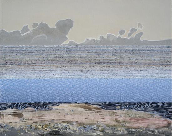 沚湖-午后  120cm X150cm  布面油画  2016