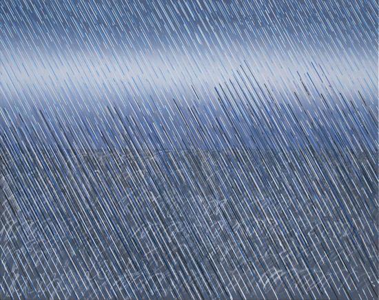 雨之二 120cm X150cm  布面油画  2016