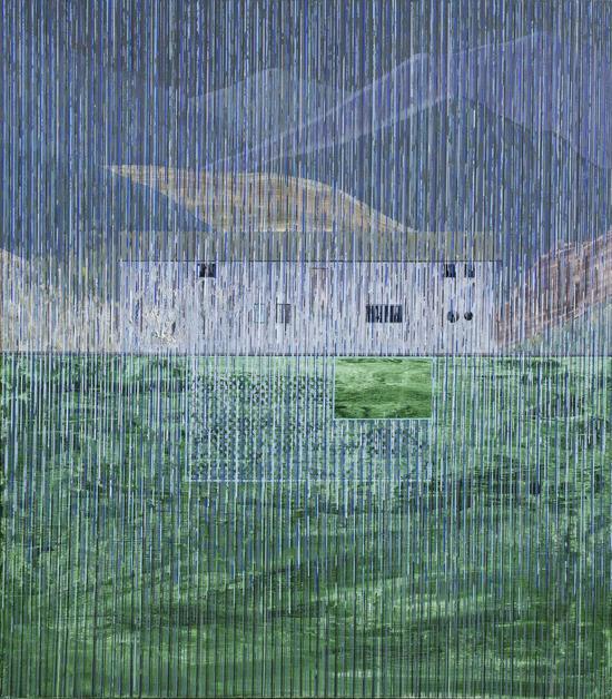湖边工作室-側二-春 150cm X170cm 布面油画 2016