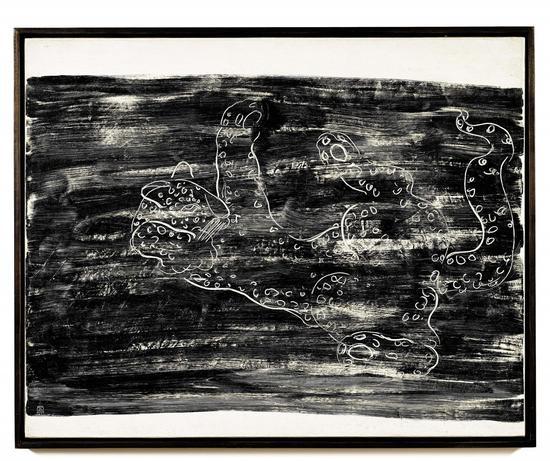 常玉《花豹》,1931年作,油彩畫布,93 x 116公分,估價待詢  (9月30日   晚拍)