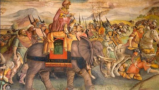 面对罗马及诸部落军队连战皆捷的汉尼拔在土耳其受挫,被迫回撤。(Alamy)