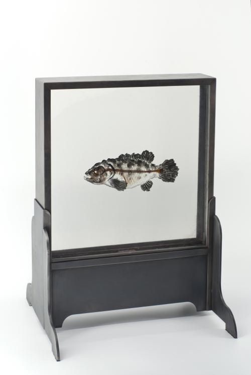 《意浮沉—No.5》2017/综合材料/41x30.5x27.5cm