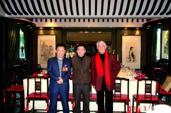 左起:吴欢、许化迟、易苏昊