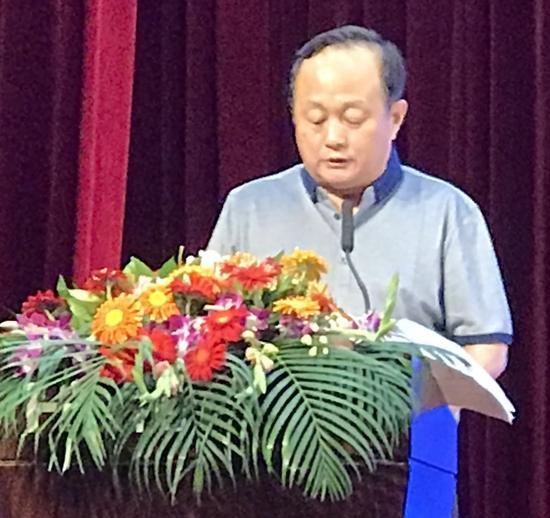 国家产业技术创新战略(培育)联盟常务副理事长兼秘书长孙小林讲话