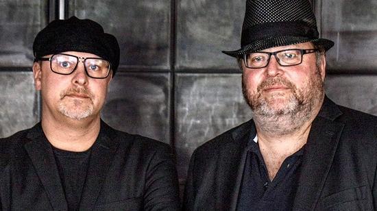扬·布罗曼(右)和皮尔·布罗曼