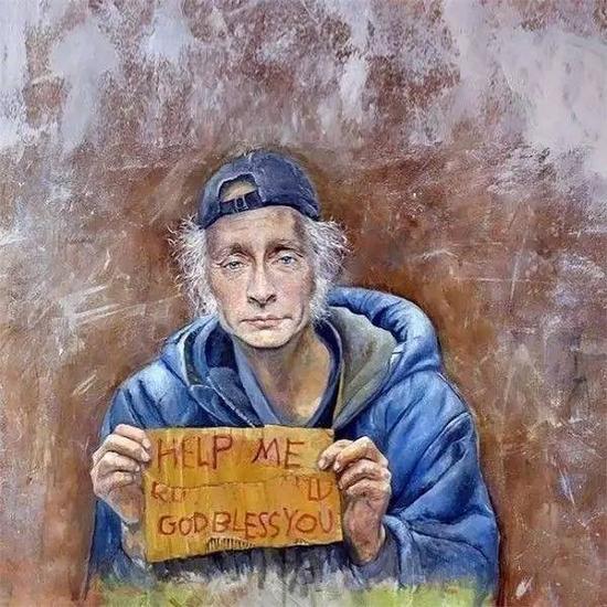 """""""难民版""""俄罗斯总统普京"""