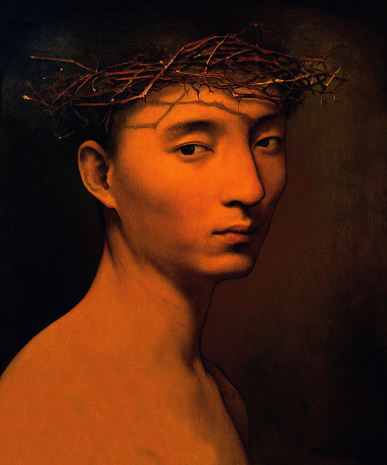 彭斯 忧来无方,人莫之知 版画60x50cm 2009 Uncertain melancholy, oil on canvas, 60 x 50 cm 2009