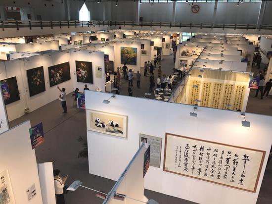 2017北京艺博会展览现场