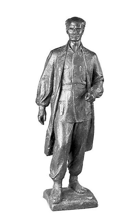 司徒杰 白求恩像 1956年 中国美术馆藏