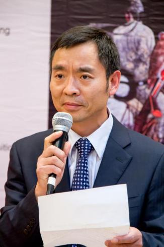 中国驻法使馆文化处一秘梁成喜先生致辞