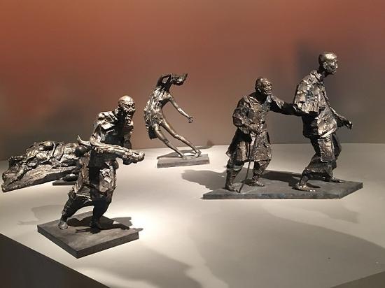 吴为山《南京大屠杀系列组雕》