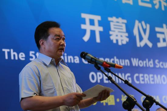 中共吉林省委常委、长春市委书记王君正先生致辞