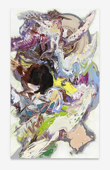 Sebastian Heiner 蝴蝶刀战 170x100 cm 油画颜料 架上绘画 2017