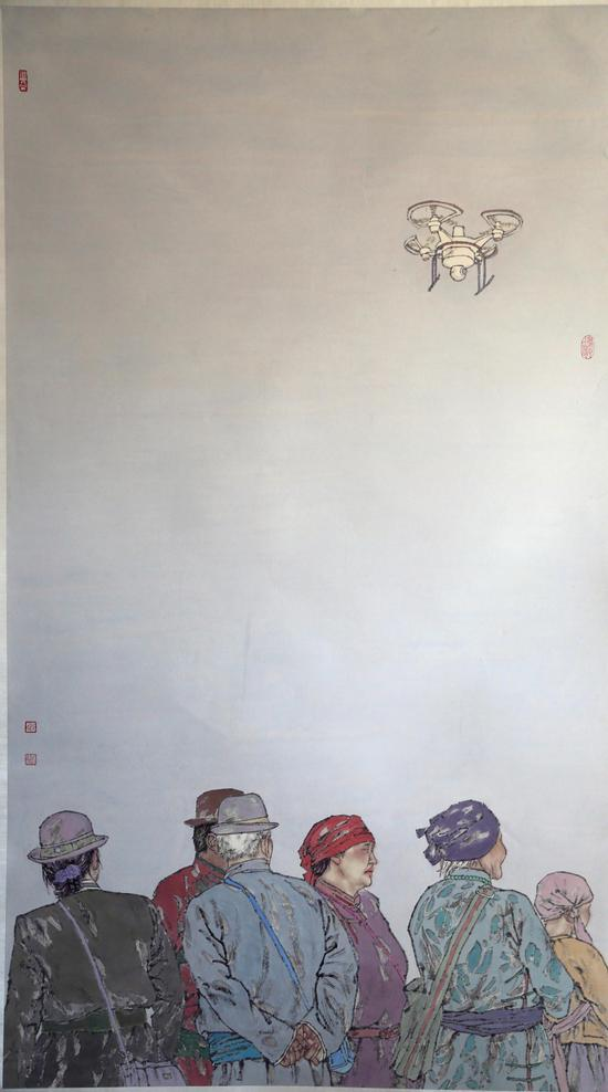 优秀奖 刘闻涛 赛马