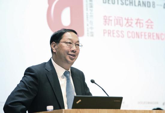 中国驻德大使史明德