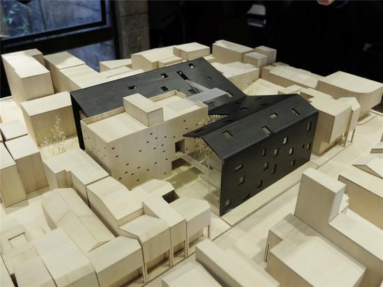 连州摄影博物馆 设计模型