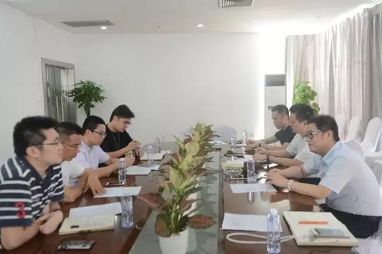 深圳广电集团体育健康频道领导到访深圳文交所
