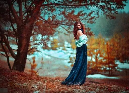 俄罗斯摄影师Светлана Беляева的人像摄影作品。